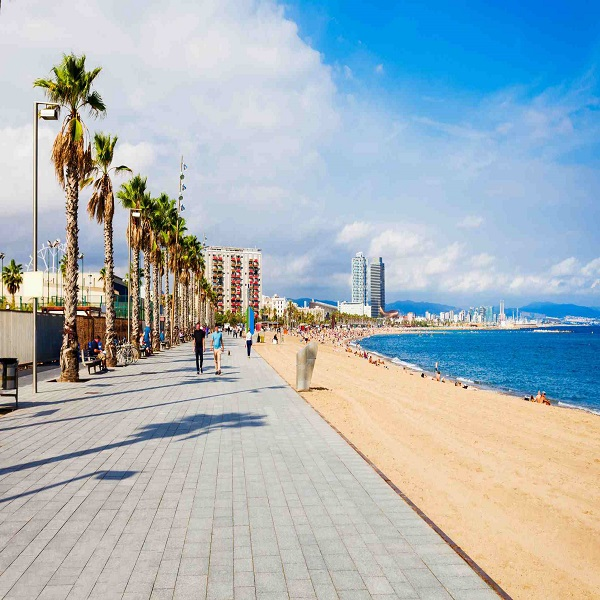 Barcelona Beaches for vacation